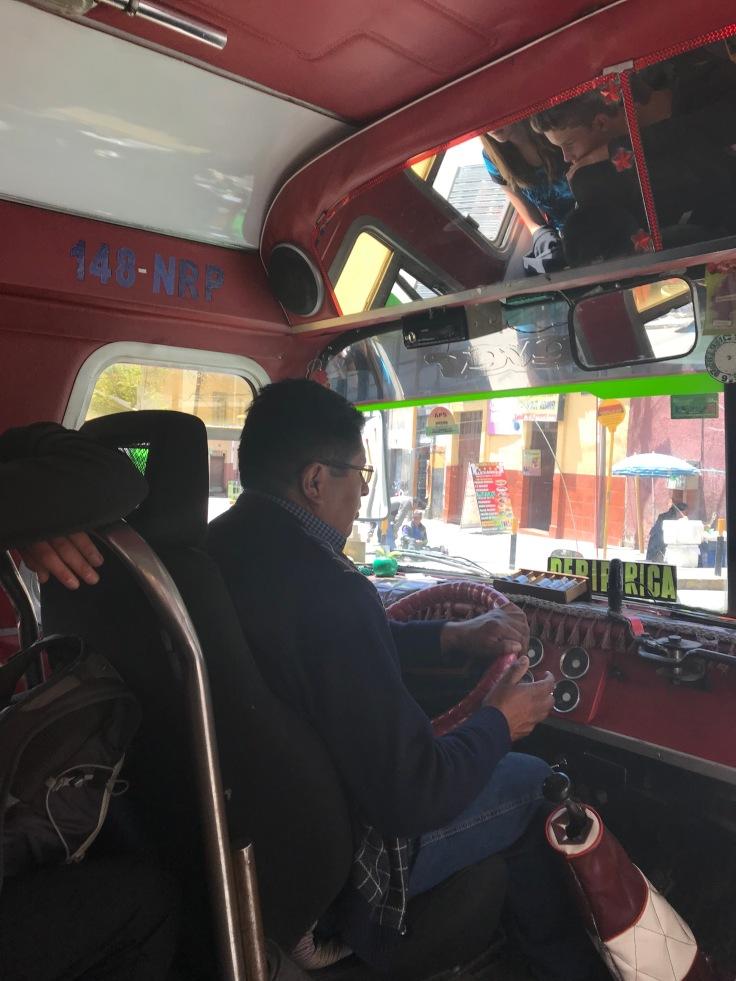 chauffeur stadbus
