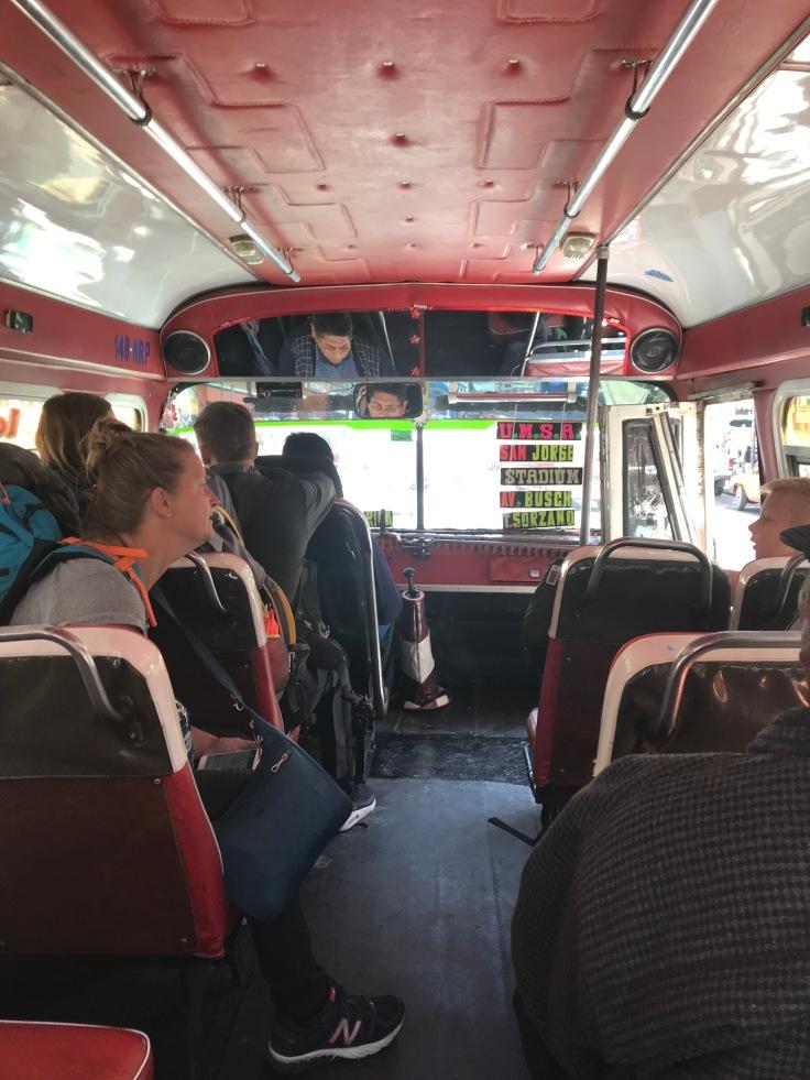 in stadsbus